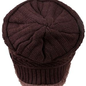 Accessories - Winter Knitting Skull Cap Wool Slouchy Beanie Hat